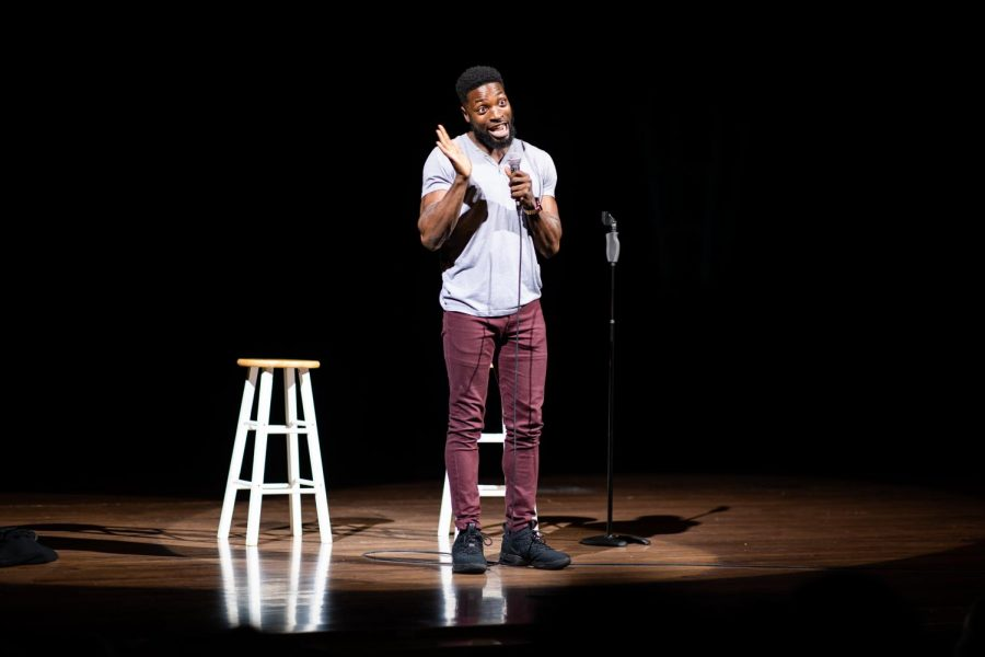 Preacher Lawson kept the crowd laughing during his performance on Sept. 15th