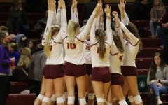 Volleyball wins conference matchup vs. Albion