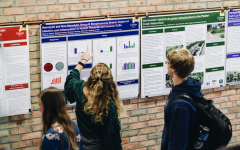 Students showcase research at science division poster fair