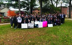 Calvin not alone: Hope students rally to protest music faculty cuts, suspensions