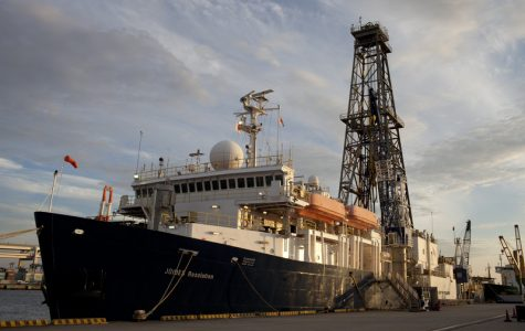 Sedimentologist discusses past research with IODP
