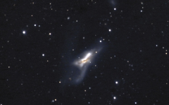 Observatory Corner: Galactic Collisions
