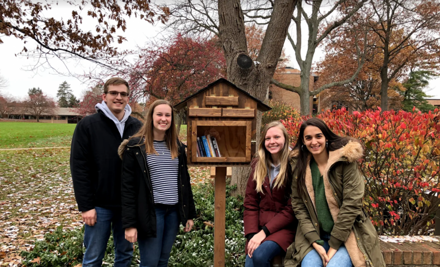 'The Little Free Library' comes to campus