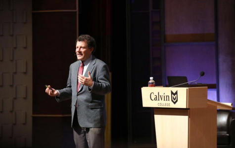 New York Times columnist Nicholas Kristof speaks at January Series, advocating for global empathy and hope