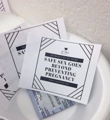 Valentine's Day 'condom caper' promotes safe sex on Calvin's campus