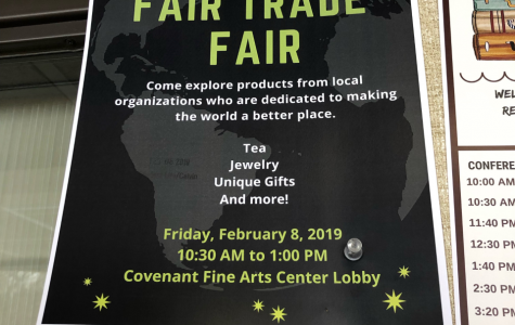 Fair trade fair supports social justice causes