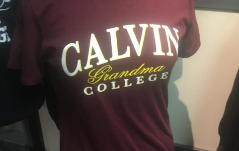 Name change to Calvin University requires new merchandise and renovations