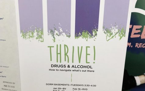 Dorm-based 'Thrive' workshops equip students for life