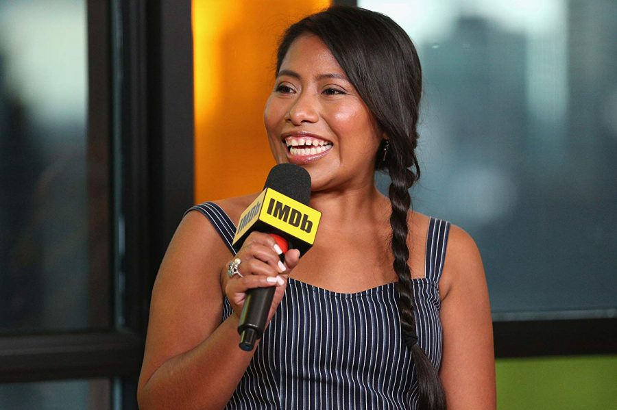 Yalitza+speaking+about+ROMA+at+IMDB%0A%28photo+courtesy+of+IMBD.com%29.
