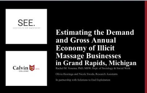 Prof partners with SEE org for groundbreaking research on illicit massage parlors in Grand Rapids