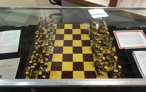 CPI student crafts Calvin chess set