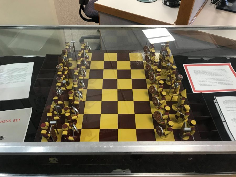Chess set crafted by CPI student, Robert