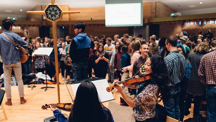 New campus ministry connects students with local ministers
