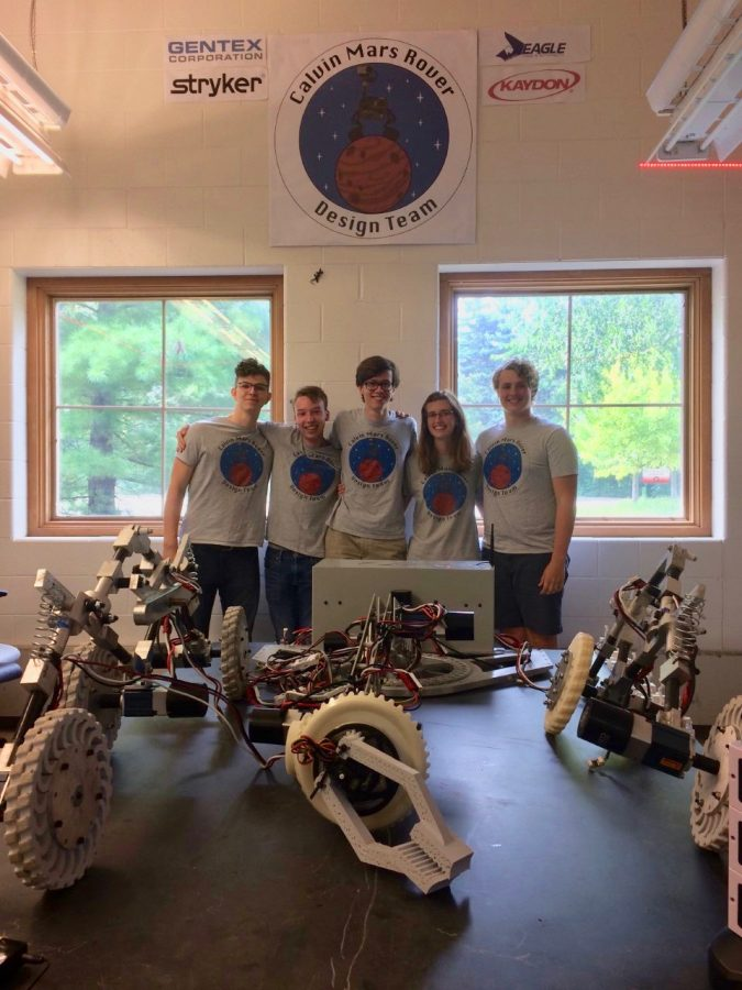 Calvin+Mars+Rover+Design+Team+provides+students+with+engineering+challenge