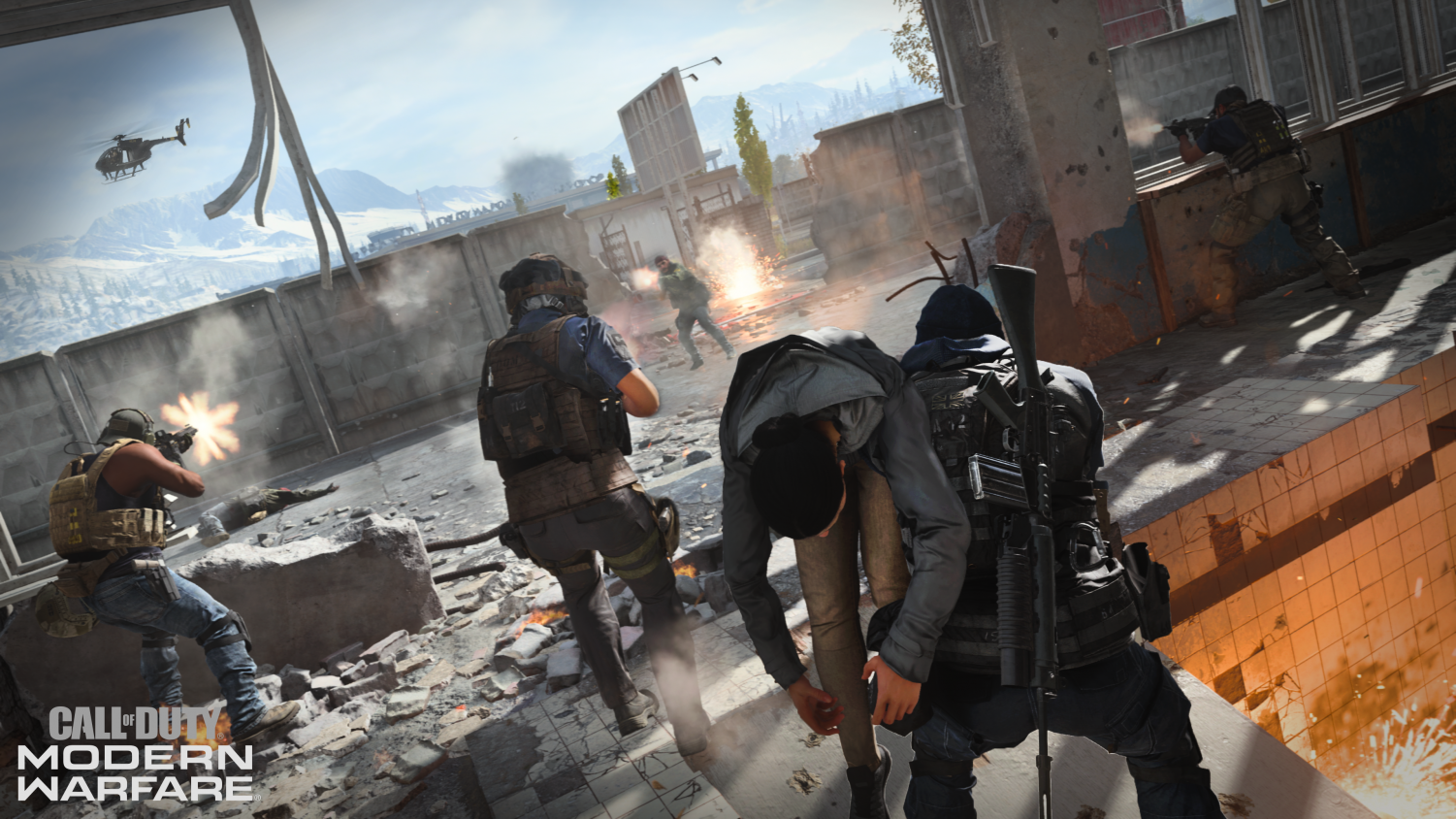 The Special Ops mode features cooperative online gameplay.