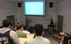Engineering dept seminar offers grad school advice