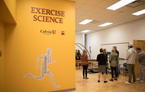 Exercise science lab gets facelift