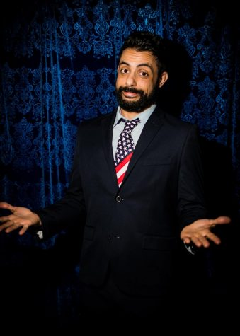 Sammy Obeid brings stand-up comedy to UnLearn Week