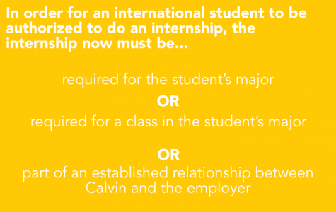 Changes to internship requirements for international students sparks frustration, town hall