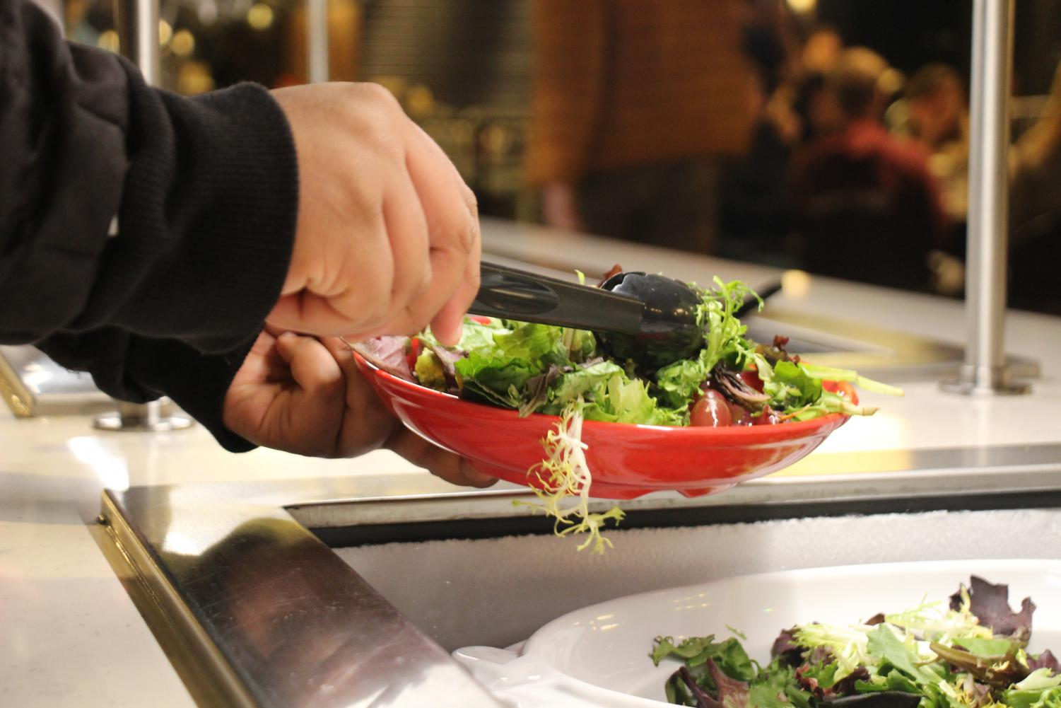 Both Commons and Knollcrest dining halls offer vegan options