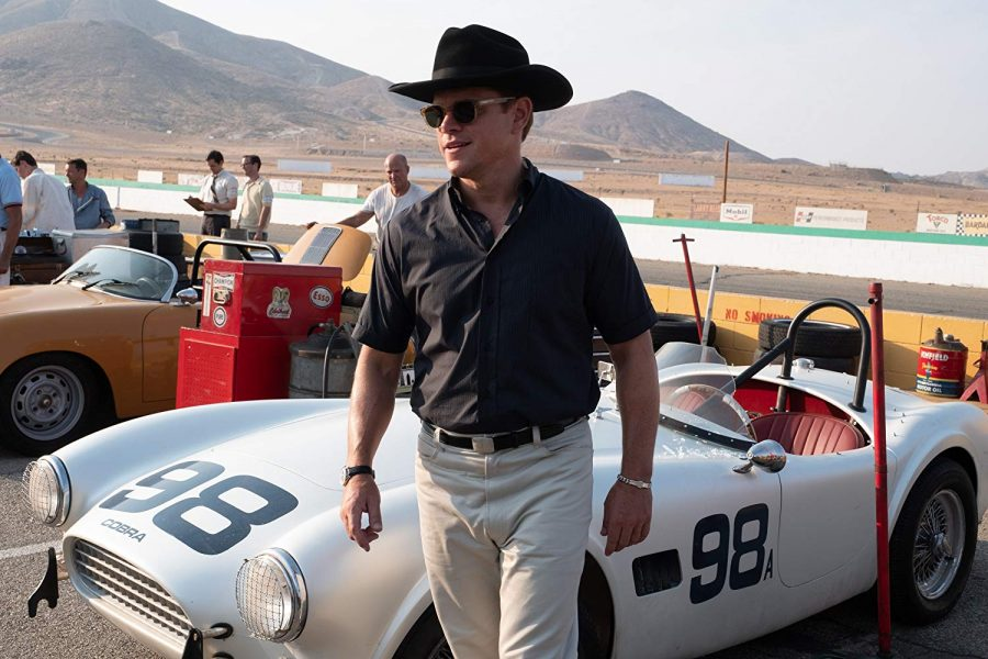 Matt Damon plays car-culture folk hero Carroll Shelby.