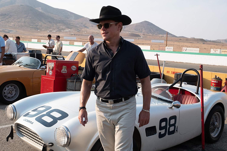 Matt Damon plays car-culture folk hero Carroll Shelby.