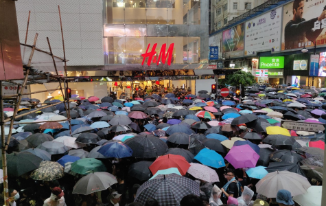 Calvin alumnus protests for democracy in Hong Kong