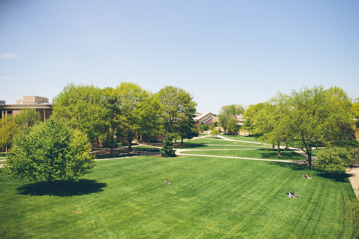 Calvin allows political candidates to speak on campus for educational events.