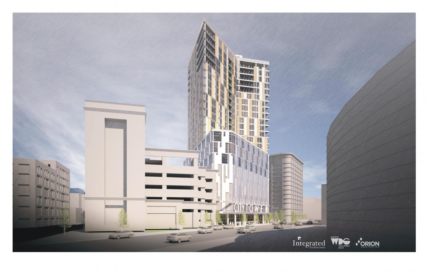 The City of Grand Rapids has plans for a 24 story tower.