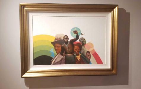 """Center Art Gallery premieres """"The Undefeated"""""""