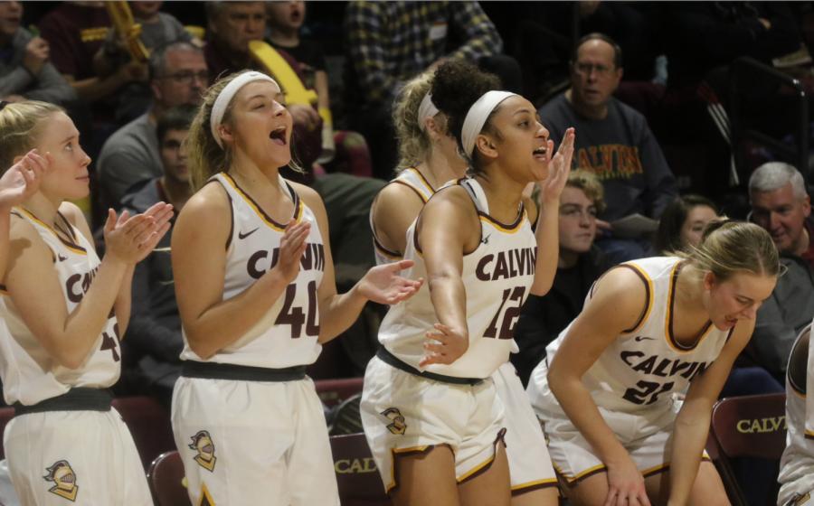Calvin men, women basketball in second sound of MIAA tournament
