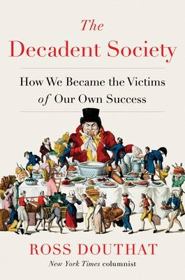 Douthat's book against decadence indulges in a little decadence of its own.