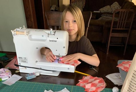 Meet the people who sewed masks for Calvin