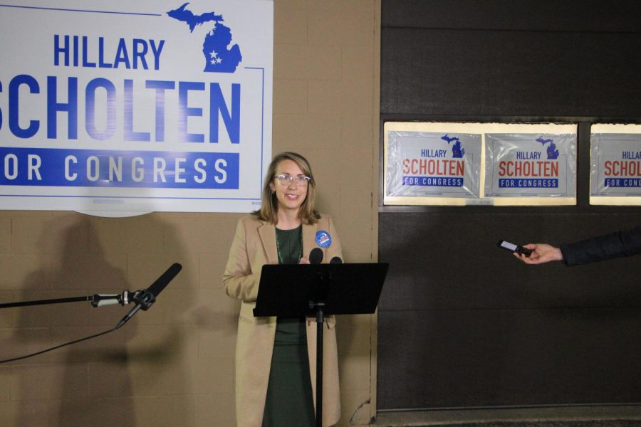 Scholten looked to pull disillusioned Republican voters with her campaign, highlighting her conservative upbringing and Christian faith.