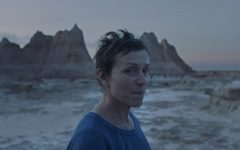 Frances McDormand stars as Fern, a woman trying to find herself while struggling to make a living.