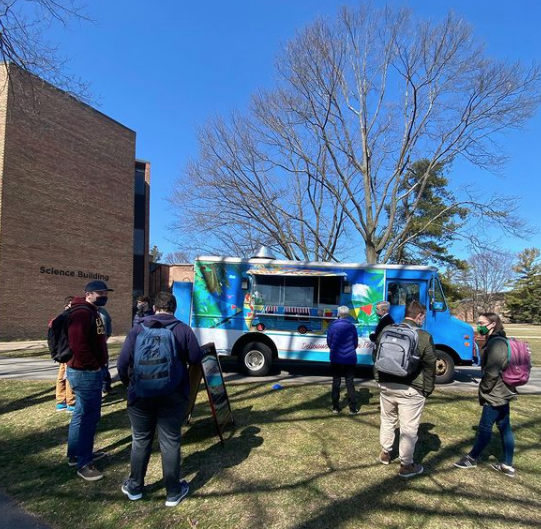 Pause week events included food trucks around Commons Lawn and in the CFAC parking lot.