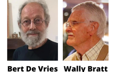 Former Calvin professors Bert De Vries and Wally Bratt both died in the spring of 2021.
