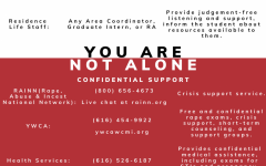 For those who have experienced sexual assault, help is available.