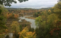 The Manistee River Trail offers incredible views and great backpacking just two hours north of campus.