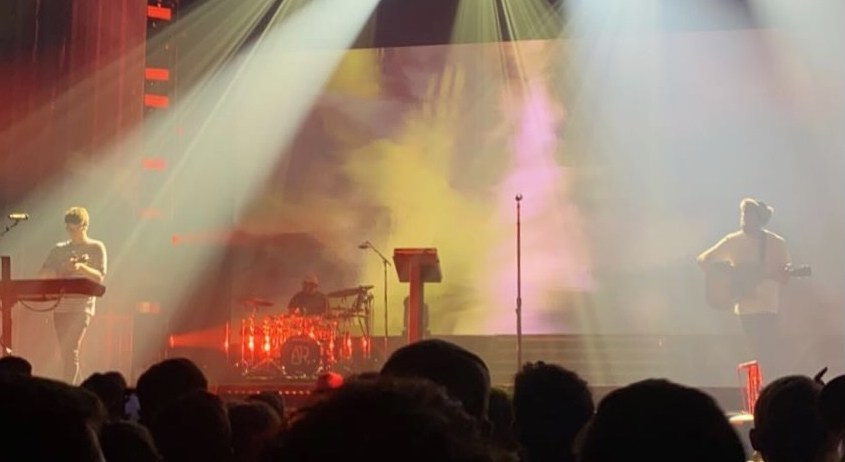 AJR plays with visual effects at Grand Rapids concert.