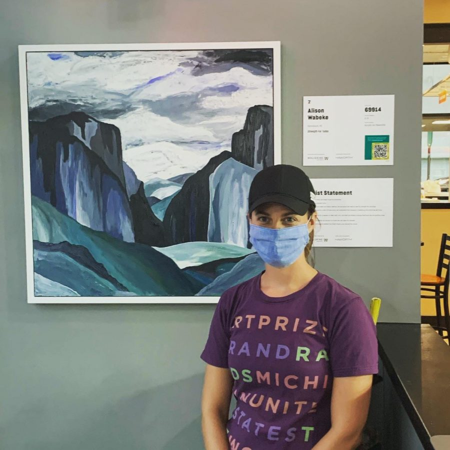 Alison Wabeke has entered all but two ArtPrize competitions.