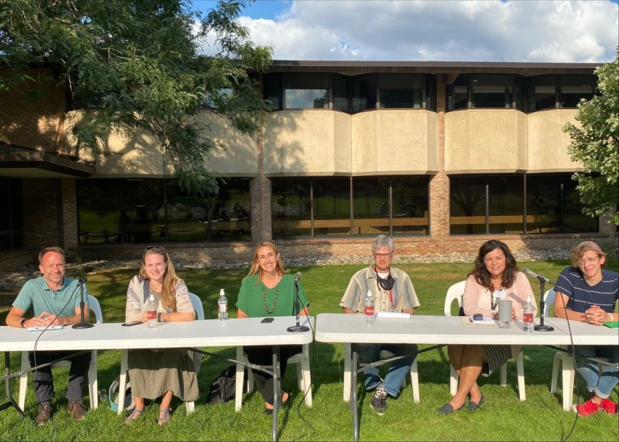 """Student senate held a town hall with members of the Covid Response Team in order to bring people with differing perspectives together to help foster understanding."""""""