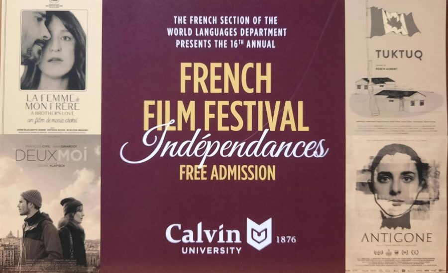 French Film Festival draws participants from all corners of the community.