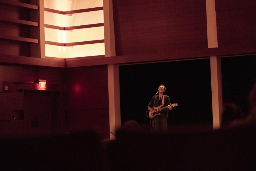 Behind every SAO concert is a small office pulling the strings necessary to bring artists to campus, including singer-songwriter Matt Costa (pictured above).