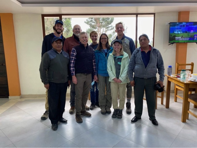 Calvin scientists and engineers evaluate water distribution system in Ecuador