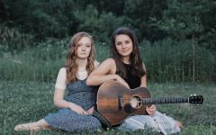 Junior Adelyn Roush and sister Ava have performed as a musical duo around their hometown of Nashville, Indiana.