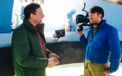 Luminous documentary, directed by professor Sam Smartt and about professor Larry Molnar, finally makes it to the Calvin community after seven years of production.