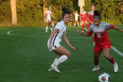 Calvin capitalized on two second-half goals to notch a win in its first conference matchup.